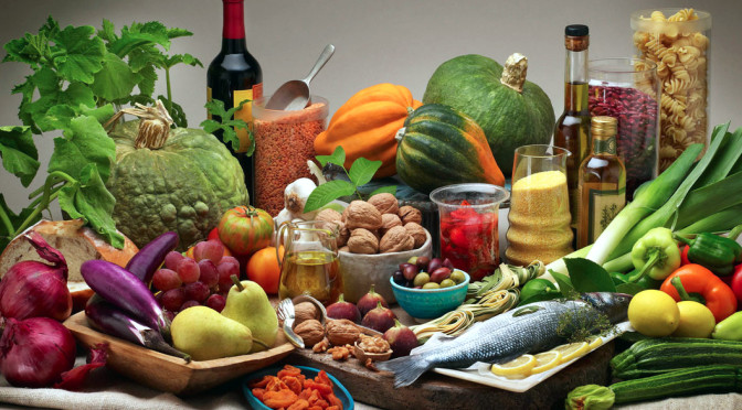 Dieta mediterranea e pelle